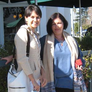 Фото 5. Лира Сафина и Наташа Купер